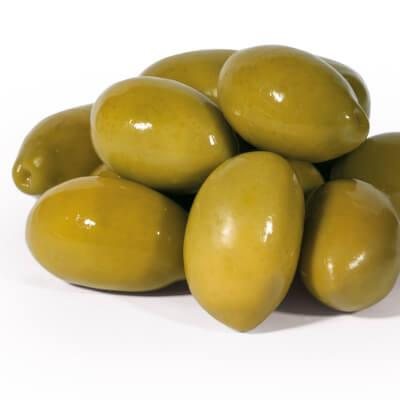 Giant Greek Green Olives in Brine