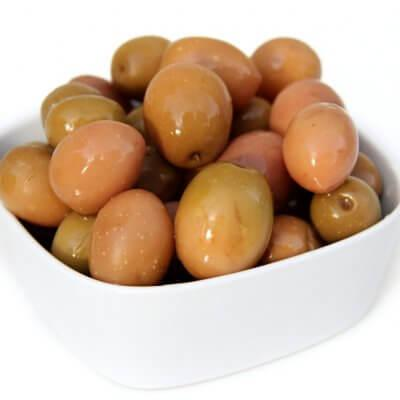 Nocellara, Termite Green Olives in Brine