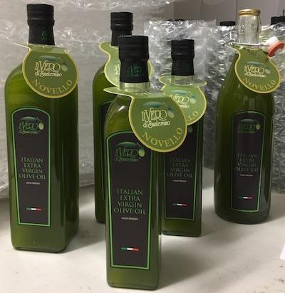 Olio Novello Peranzana - 0.5 lt bottle - New Season Extra Virgin Olive Oil