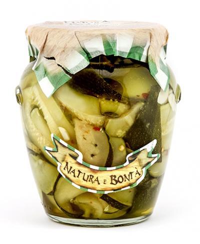 Zucchine alla casereccia/Home-style Courgettes