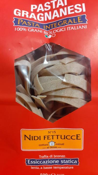 Wholegrain Organic Nidi Fettucce
