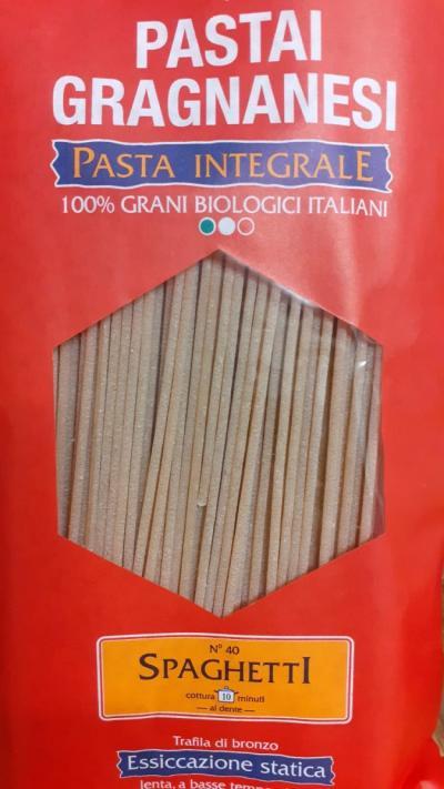 Wholegrain Organic Spaghetti