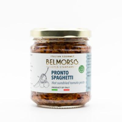 Belmorso Pronto Spaghetti - Hot Sundried Tomato Pesto